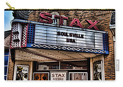 Stax Records Carry-all Pouch by Stephen Stookey