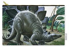 Stegosaurus Carry-all Pouch by English School