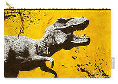 Stencil Trex Carry-all Pouch by Pixel Chimp