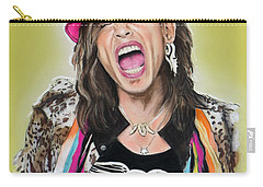 Steven Tyler 2 Carry-all Pouch by Melanie D