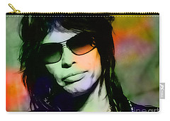 Steven Tyler Carry-all Pouch by Marvin Blaine
