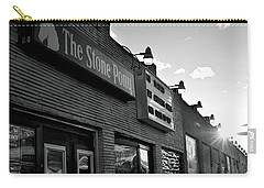 Stone Pony Asbury Park Side View Carry-all Pouch by Terry DeLuco
