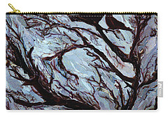 Stormy Day Greenwich Park Carry-all Pouch by Ellen Golla