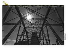 Summer Sun On Shelby Street Bridge Carry-all Pouch by Dan Sproul