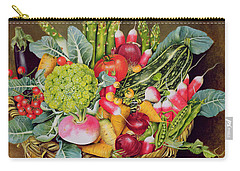 Summer Vegetables Carry-all Pouch by EB Watts