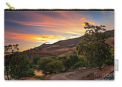 Sunrise At Woodhead Park Carry-all Pouch by Robert Bales