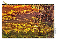 Sunset Navajo Tribal Park Canyon De Chelly Carry-all Pouch by Bob and Nadine Johnston