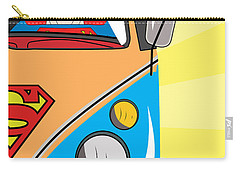 Superman 4 Carry-all Pouch by Mark Ashkenazi