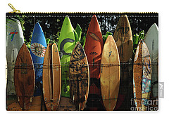 Surfboard Fence 4 Carry-all Pouch by Bob Christopher