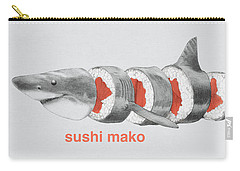 Sushi Mako Carry-all Pouch by Eric Fan