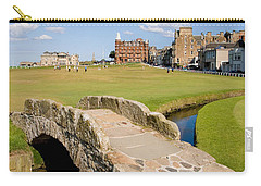 Swilcan Bridge On The 18th Hole At St Andrews Old Golf Course Scotland Carry-all Pouch by Unknown