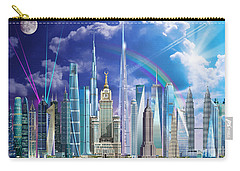 Tall Buildings Carry-all Pouch by Garry Walton