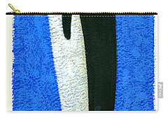 Tall Penguin Carry-all Pouch by Brian James