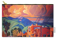 Taos Inn Monsoon Carry-all Pouch by Art James West