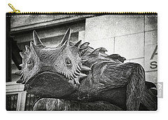 Tcu Horned Frog 2014 Carry-all Pouch by Joan Carroll