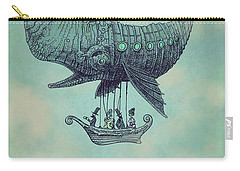Tea At Two Thousand Feet Carry-all Pouch by Eric Fan