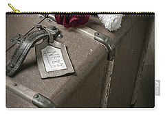 Teddy Wants To Travel Carry-all Pouch by Joana Kruse