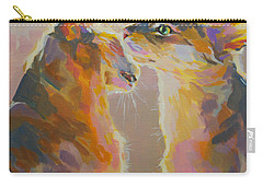 Telling Secrets Carry-all Pouch by Kimberly Santini