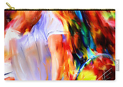 Tennis II Carry-all Pouch by Lourry Legarde