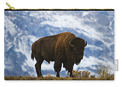 Teton Bison Carry-all Pouch by Mark Kiver