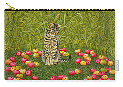The Apple Mouse Carry-all Pouch by Ditz