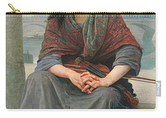 The Bohemian Carry-all Pouch by William Adolphe Bouguereau