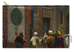 The Carpet Merchant Carry-all Pouch by Jean Leon Gerome