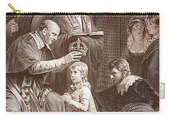 The Coronation Of Henry Vi, Engraved Carry-all Pouch by John Opie