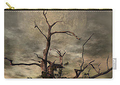 The Crow Tree Carry-all Pouch by Isabella Abbie Shores