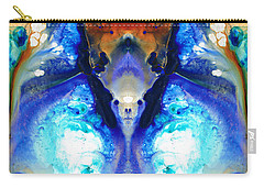 The Dragon - Visionary Art By Sharon Cummings Carry-all Pouch by Sharon Cummings