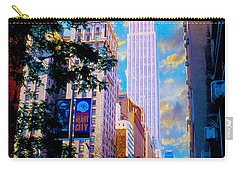 The Empire State Building Carry-all Pouch by Jon Neidert