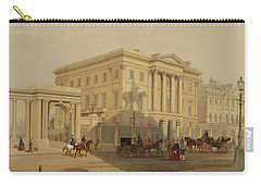 The Exterior Of Apsley House, 1853 Carry-all Pouch by English School