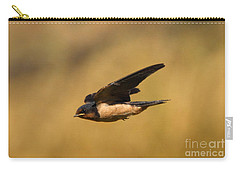 First Swallow Of Spring Carry-all Pouch by Robert Frederick