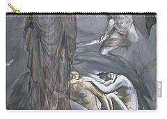 The Finding Of Medusa, C.1876 Carry-all Pouch by Sir Edward Coley Burne-Jones