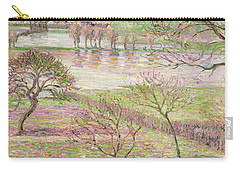 The Flood At Eragny Carry-all Pouch by Camille Pissarro