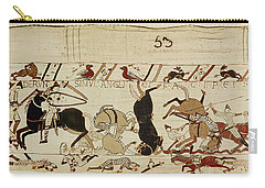 The Bayeux Tapestry Carry-all Pouch by French School