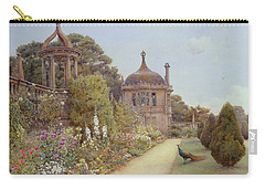 The Gardens At Montacute In Somerset Carry-all Pouch by Ernest Arthur Rowe