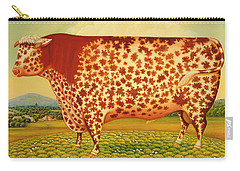 The Great Bull Carry-all Pouch by Frances Broomfield