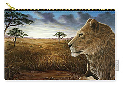 The Huntress Carry-all Pouch by Rick Bainbridge