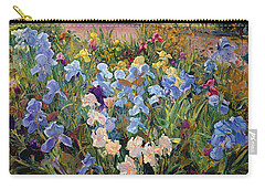 The Iris Bed Carry-all Pouch by Timothy Easton