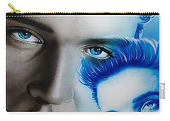 Elvis Presley - ' The King ' Carry-all Pouch by Christian Chapman Art