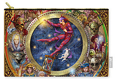 The Legacy Of The Devine Tarot Carry-all Pouch by Ciro Marchetti