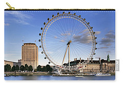 The London Eye Carry-all Pouch by Rod McLean