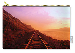 The Long Walk To No Where  Carry-all Pouch by Jeff Swan