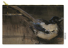 The Magpie Carry-all Pouch by Joseph Crawhall