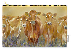 The Morning Moo Carry-all Pouch by Catherine Davis