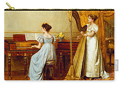 The Music Room Carry-all Pouch by George Goodwin Kilburne