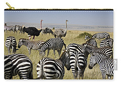 The Odd Couple Carry-all Pouch by Michele Burgess