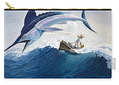 The Old Man And The Sea Carry-all Pouch by Harry G Seabright