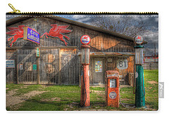 The Old Service Station Carry-all Pouch by David and Carol Kelly